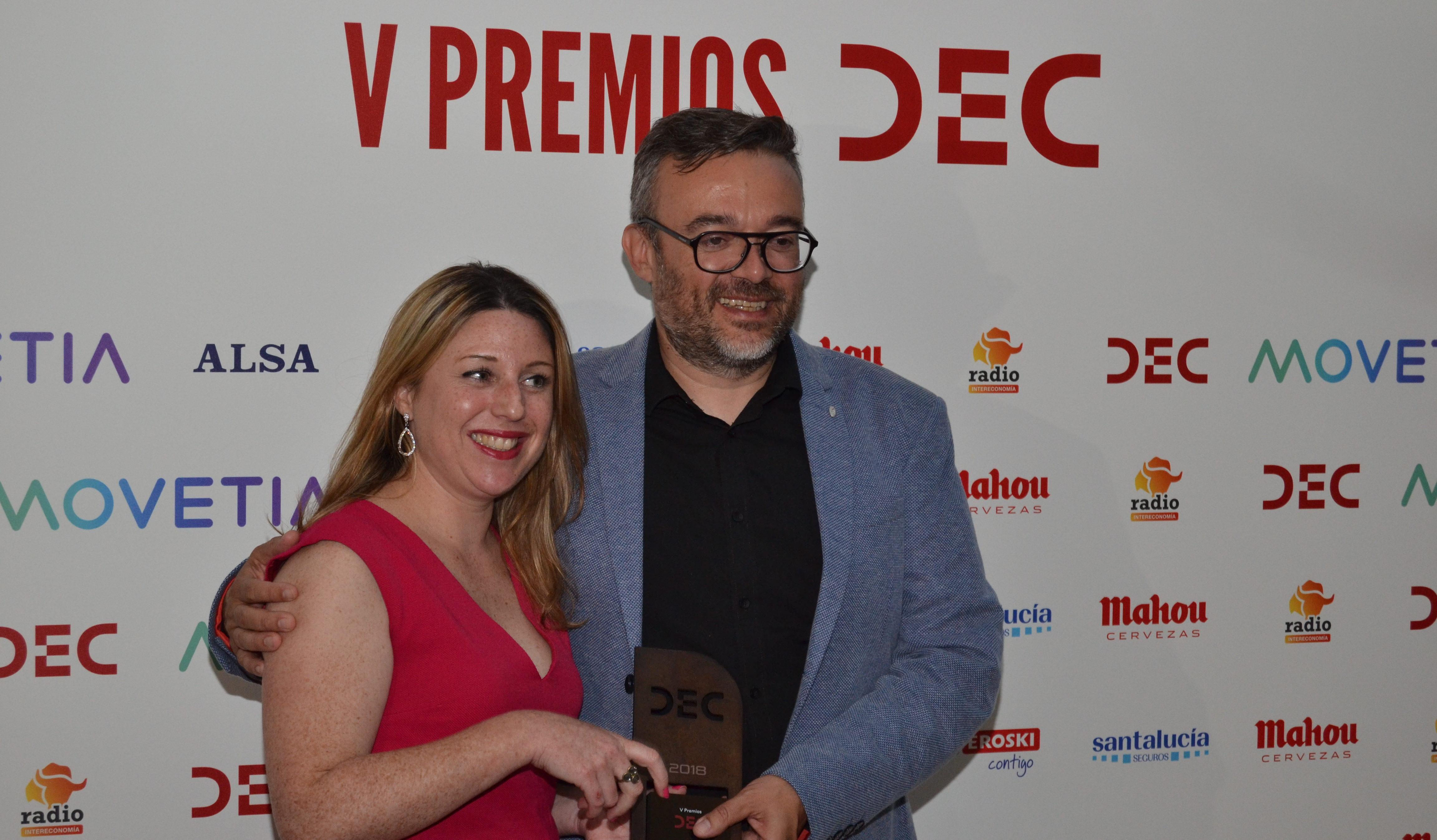 Video: Entrevista en la gala de los premios DEC al proyecto mas innovador – imotion Analytics & Campanile