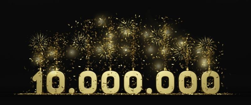 ¡Alcanzamos los 10 millones de interacciones monitorizadas al mes!