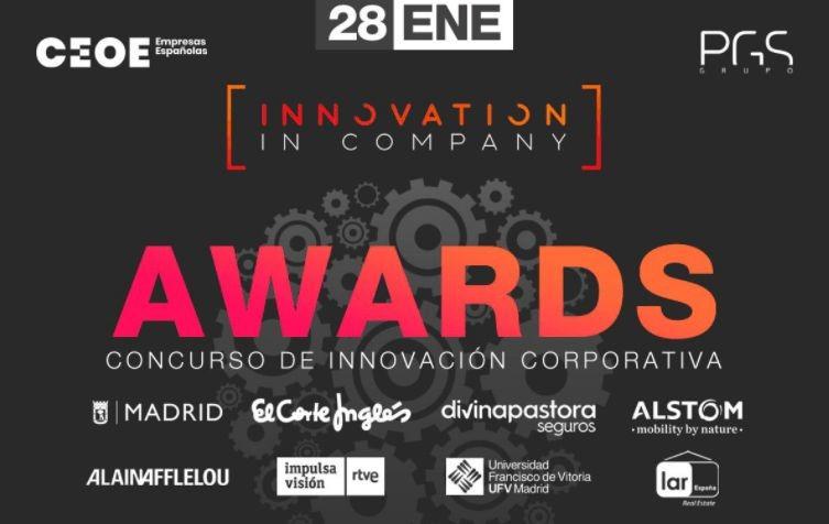 Imotion Analitics ganadores de los premios Innovation In Company