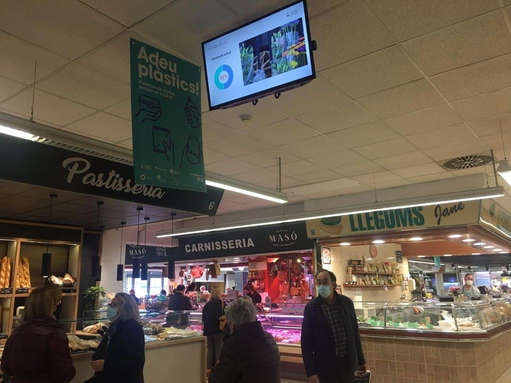 Imotion Analytics protege a los visitantes de los mercados de Vilafranca de Penedés con la solución Aforo Seguro